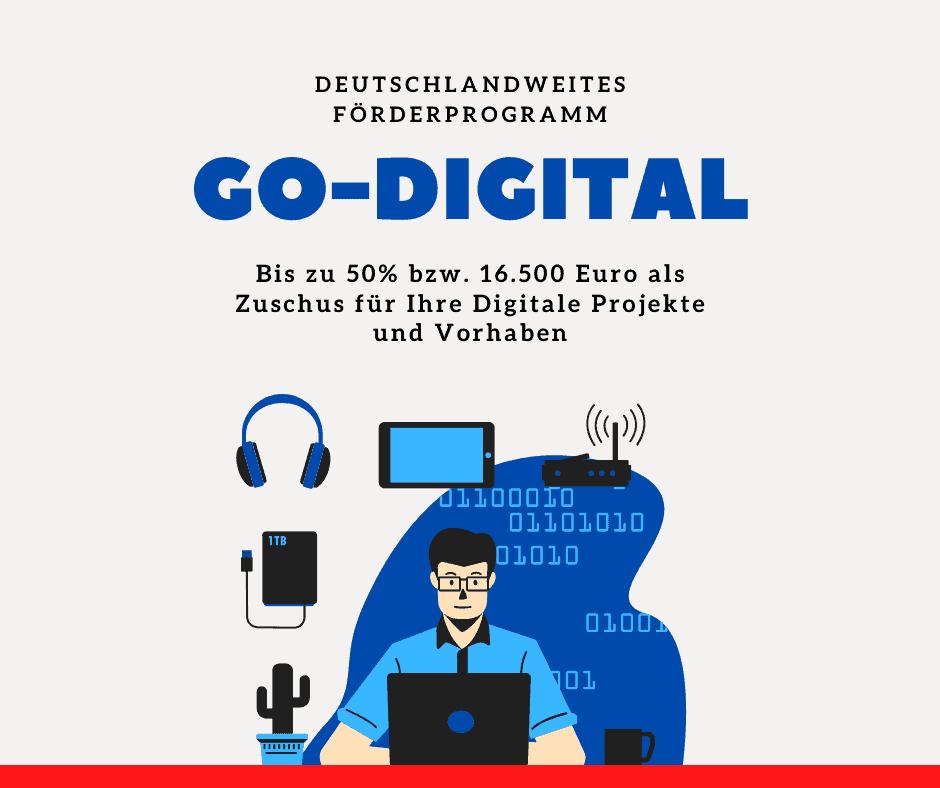 Beratung Förderprogramm go-digital